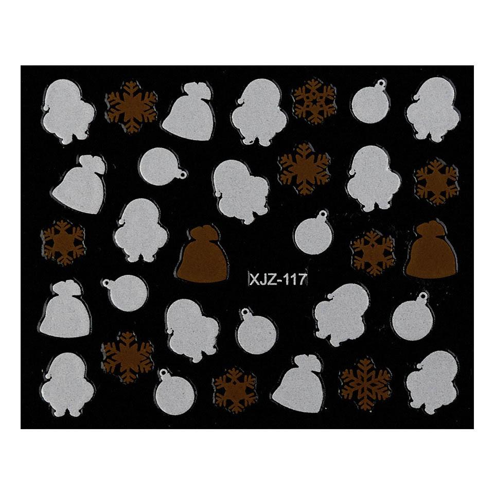 Abtibild unghii XJZ-117 Seara de Sarbatori – Ciocolata de Craciun imagine 2021 kitunghii