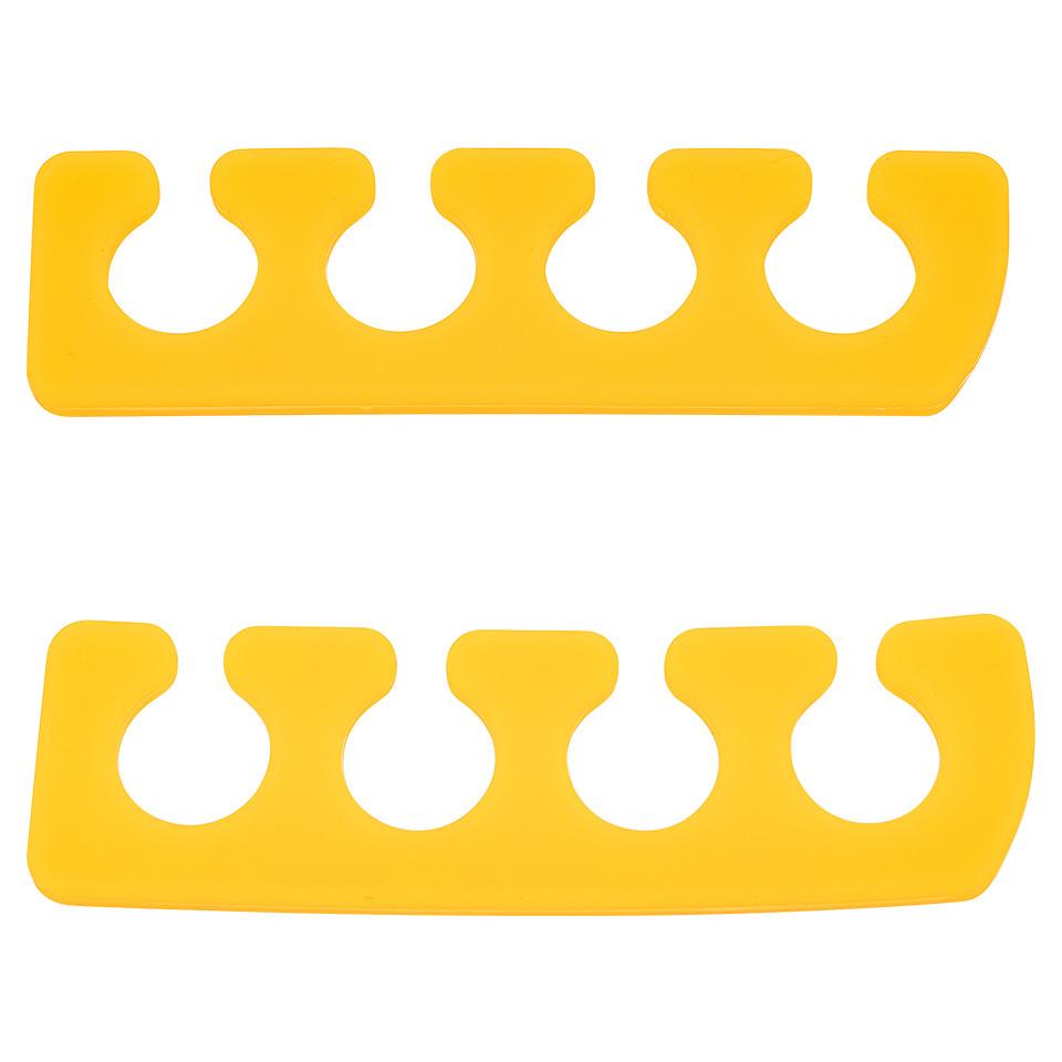 Despartitor Degete din Silicon Jelly Yellow Apple Nails imagine 2021 kitunghii