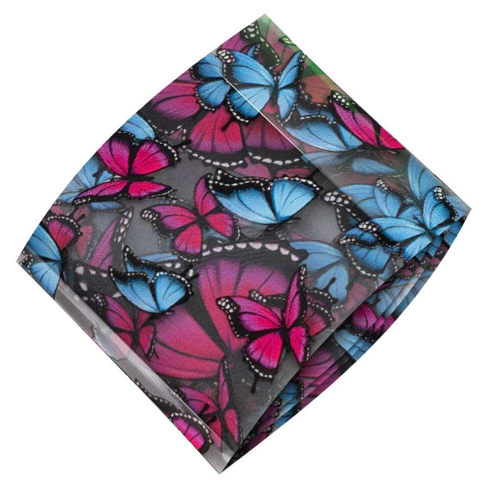 Folie de Transfer Unghii LUXORISE #412 Butterfly imagine 2021 kitunghii