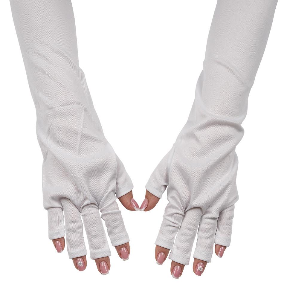 Manusi Manichiura Protectie UV, Alb imagine produs