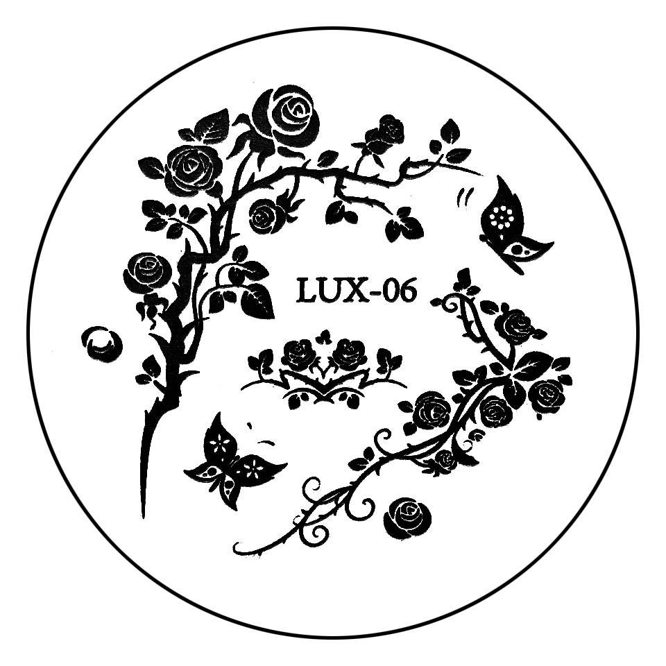 Matrita Metalica Stampila Unghii LUX-06 - Nature imagine 2021 kitunghii