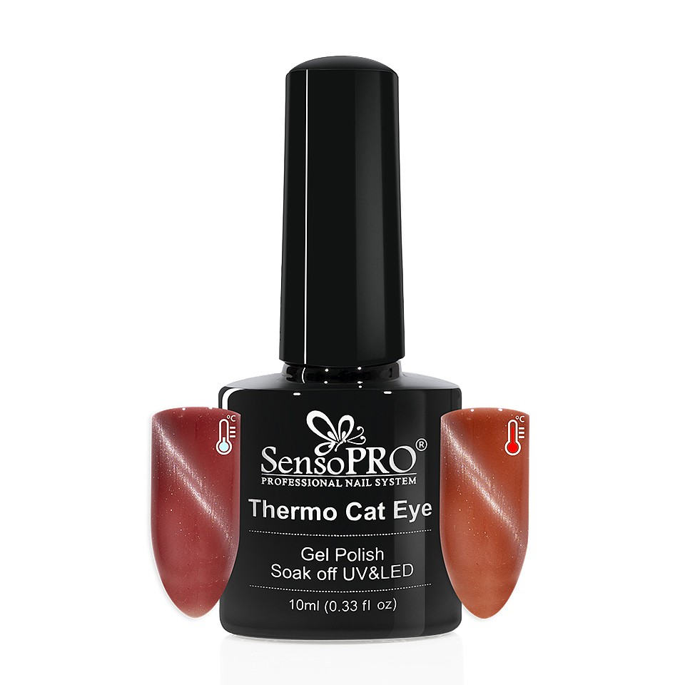 Oja Semipermanenta Thermo Cat Eye SensoPRO 10 ml, #03 imagine 2021 kitunghii