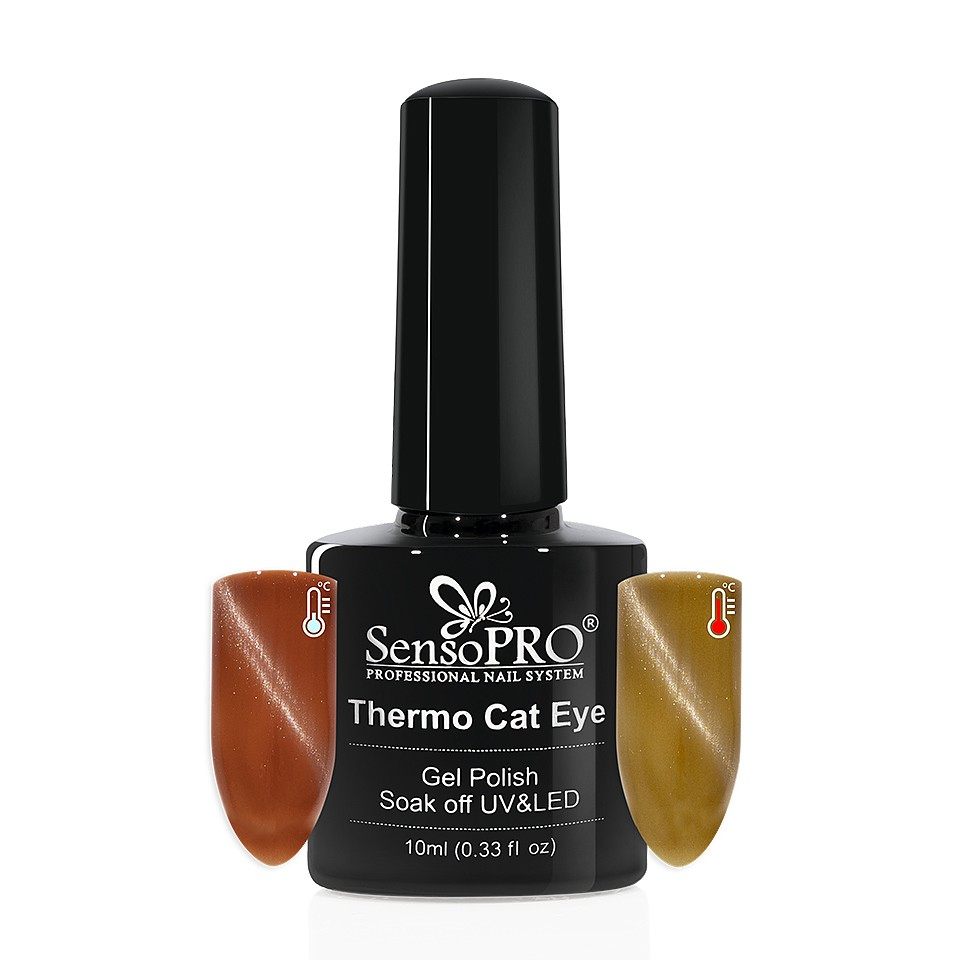 Oja Semipermanenta Thermo Cat Eye SensoPRO 10 ml, #05 imagine 2021 kitunghii