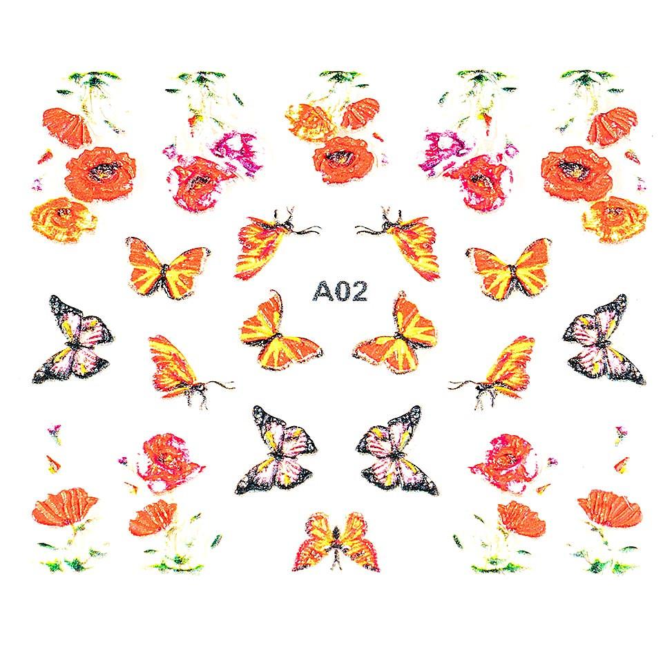 Sticker 3D Unghii LUXORISE Artistry A02 kitunghii.ro