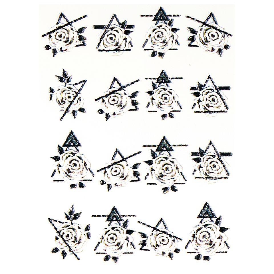 Tatuaj 3D Unghii LUXORISE 1007-41 kitunghii.ro