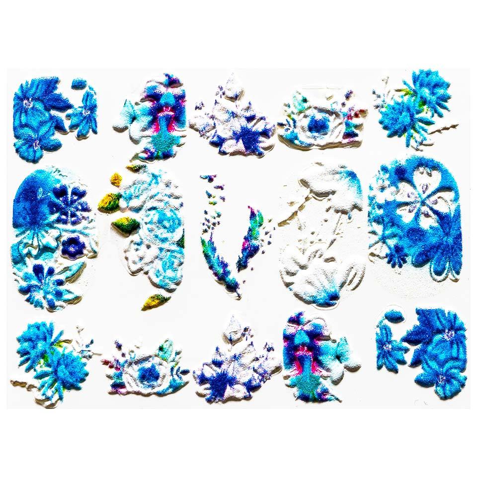 Tatuaj 3D Unghii LUXORISE Artistry LX054 imagine 2021 kitunghii
