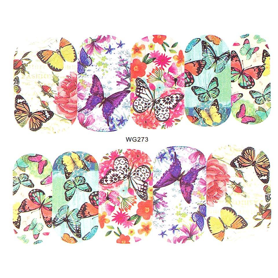 Tatuaj unghii LUXORISE, Butterfly WG273 kitunghii.ro