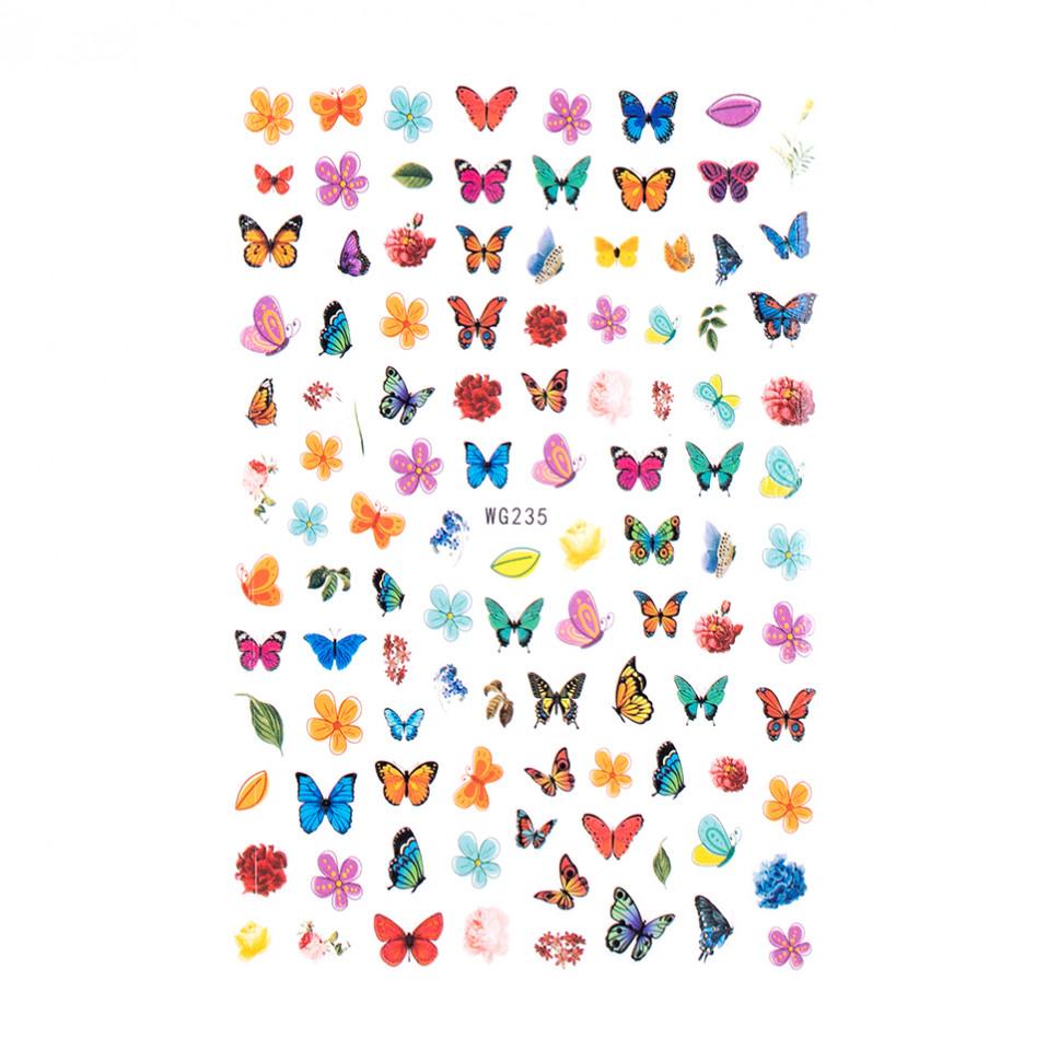 Abtibilduri unghii SensoPRO Magic Butterfly, model WG235 kitunghii.ro