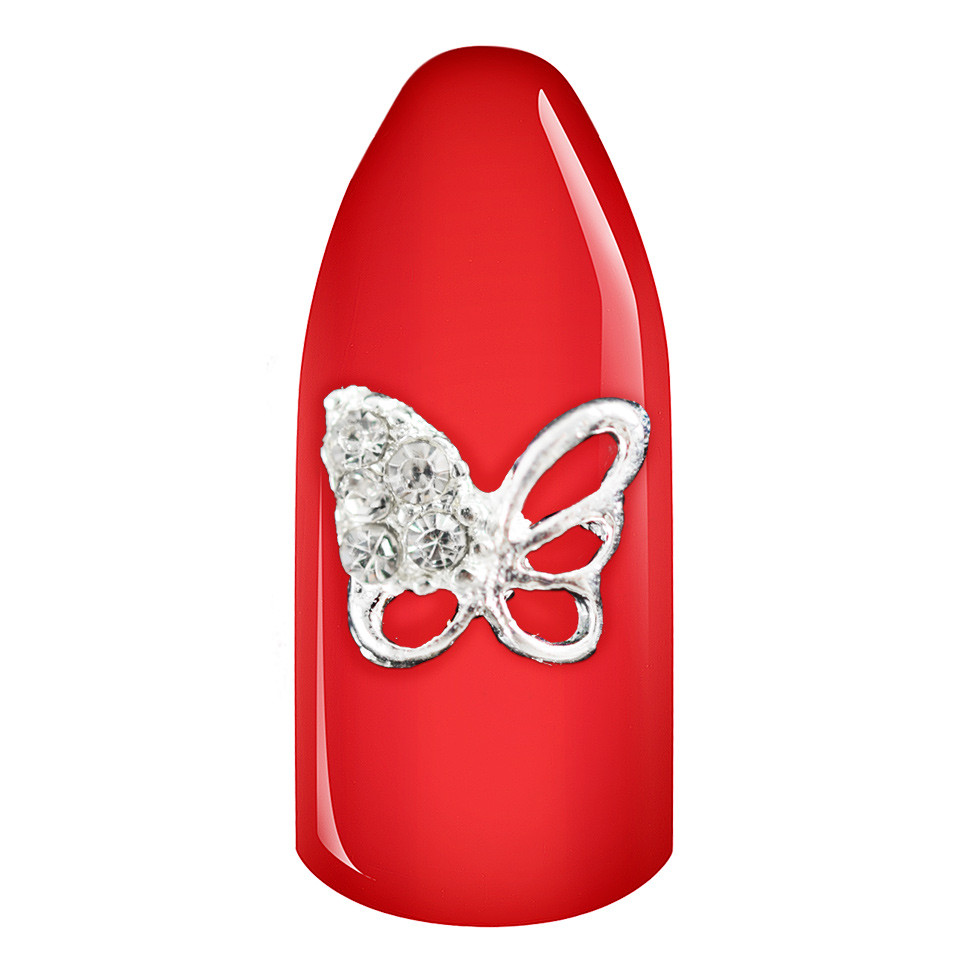 Decoratiune Unghii 3D - Crystal Butterfly imagine 2021 kitunghii