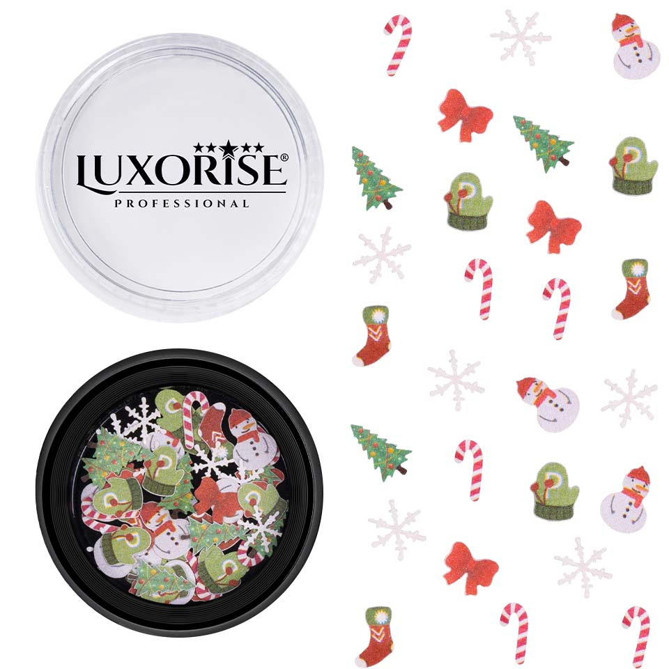 Decoratiune Unghii Christmas Delights #11, LUXORISE imagine 2021 kitunghii