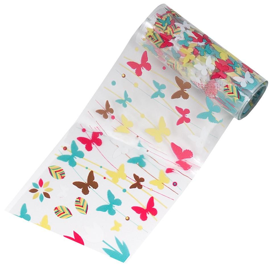 Folie de Transfer Unghii LUXORISE #06-1 Butterfly Mania kitunghii.ro