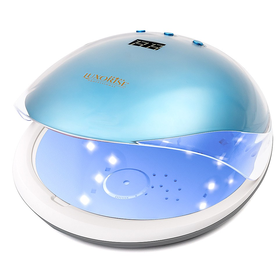 Lampa unghii UV LED 36W Crystal PRO - LUXORISE Germania, Albastru Topaz imagine produs
