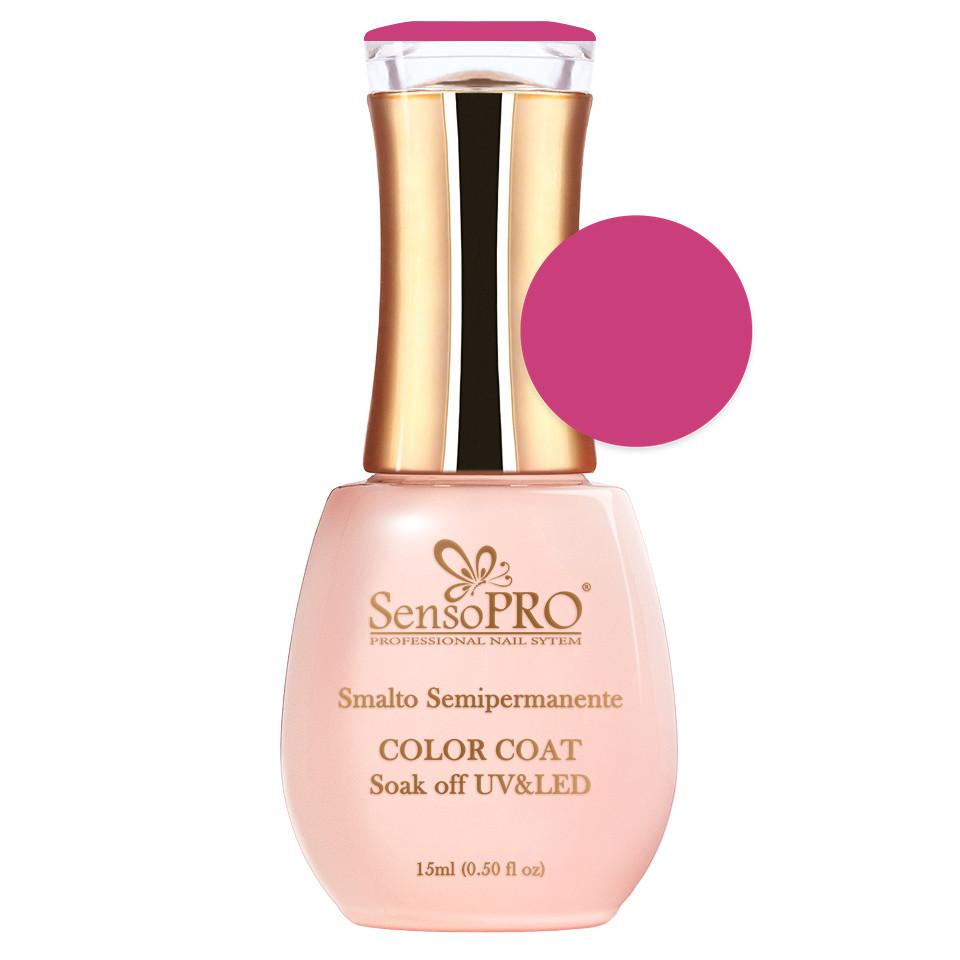 Oja Semipermanenta SensoPRO 15ml culoare Roz - 030 Deep Pink