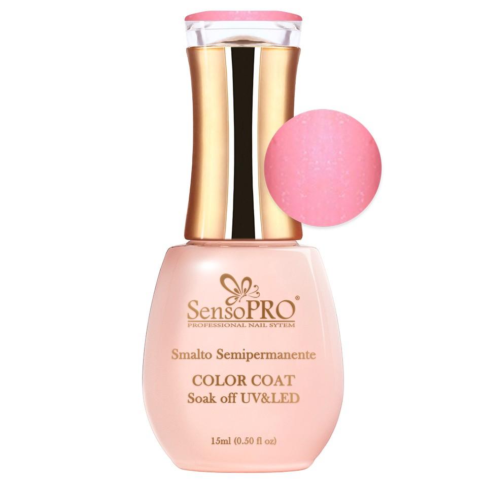 Oja Semipermanenta SensoPRO 15ml culoare Roz pal - 039 Pearly Peach poza