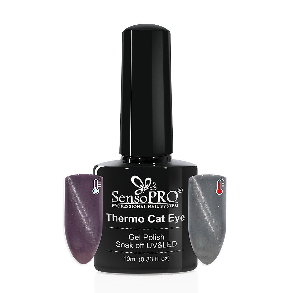 Oja Semipermanenta Thermo Cat Eye SensoPRO 10 ml, #14 imagine 2021 kitunghii