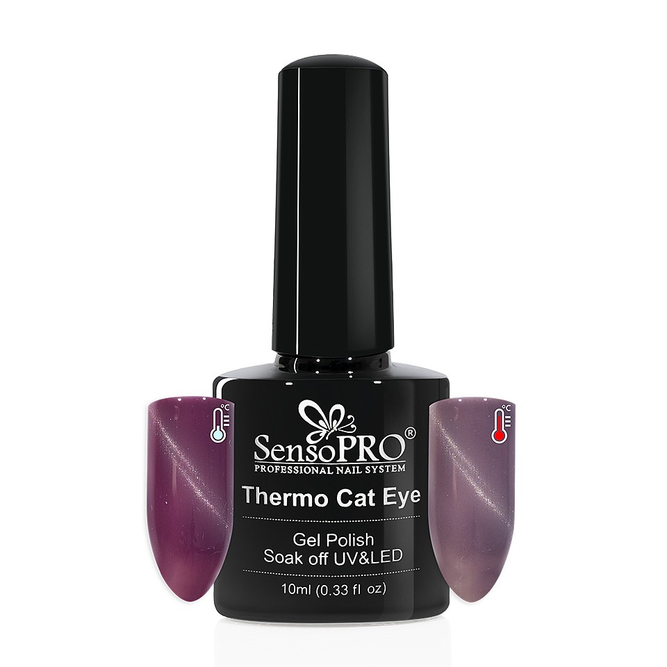 Oja Semipermanenta Thermo Cat Eye SensoPRO 10 ml, #21 imagine 2021 kitunghii