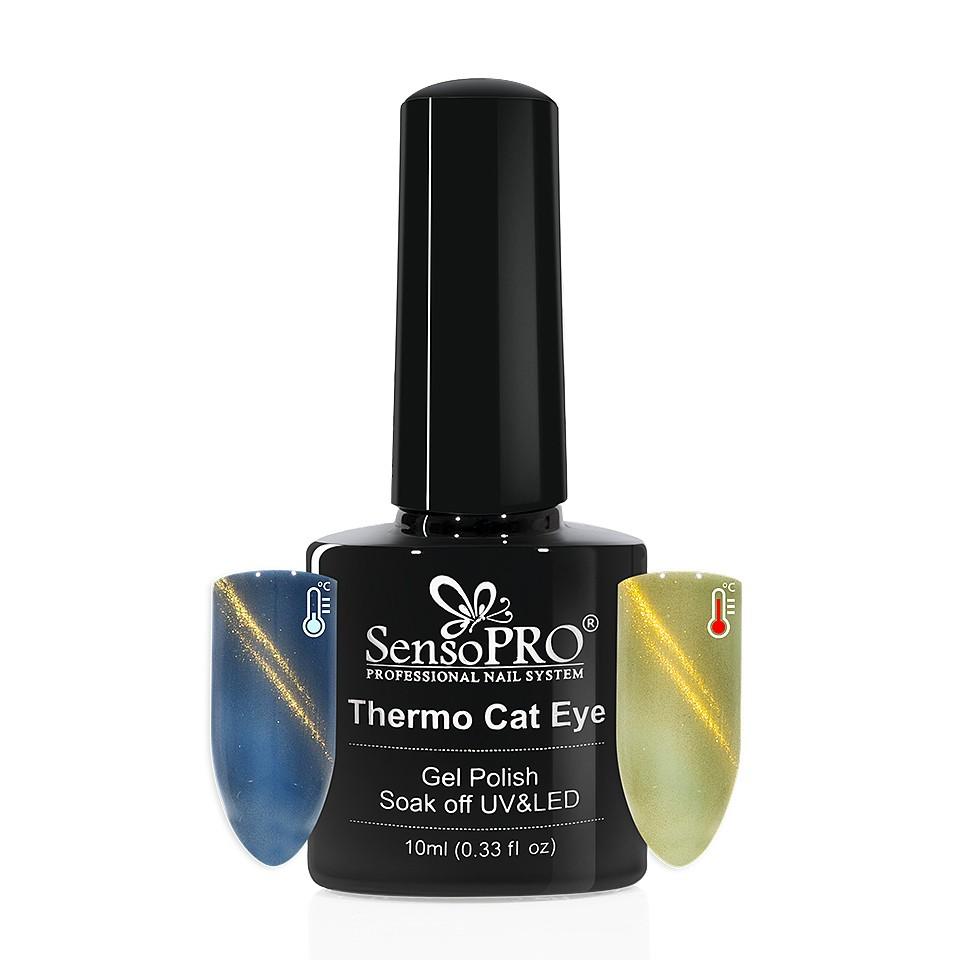Oja Semipermanenta Thermo Cat Eye SensoPRO 10 ml, #27 kitunghii.ro