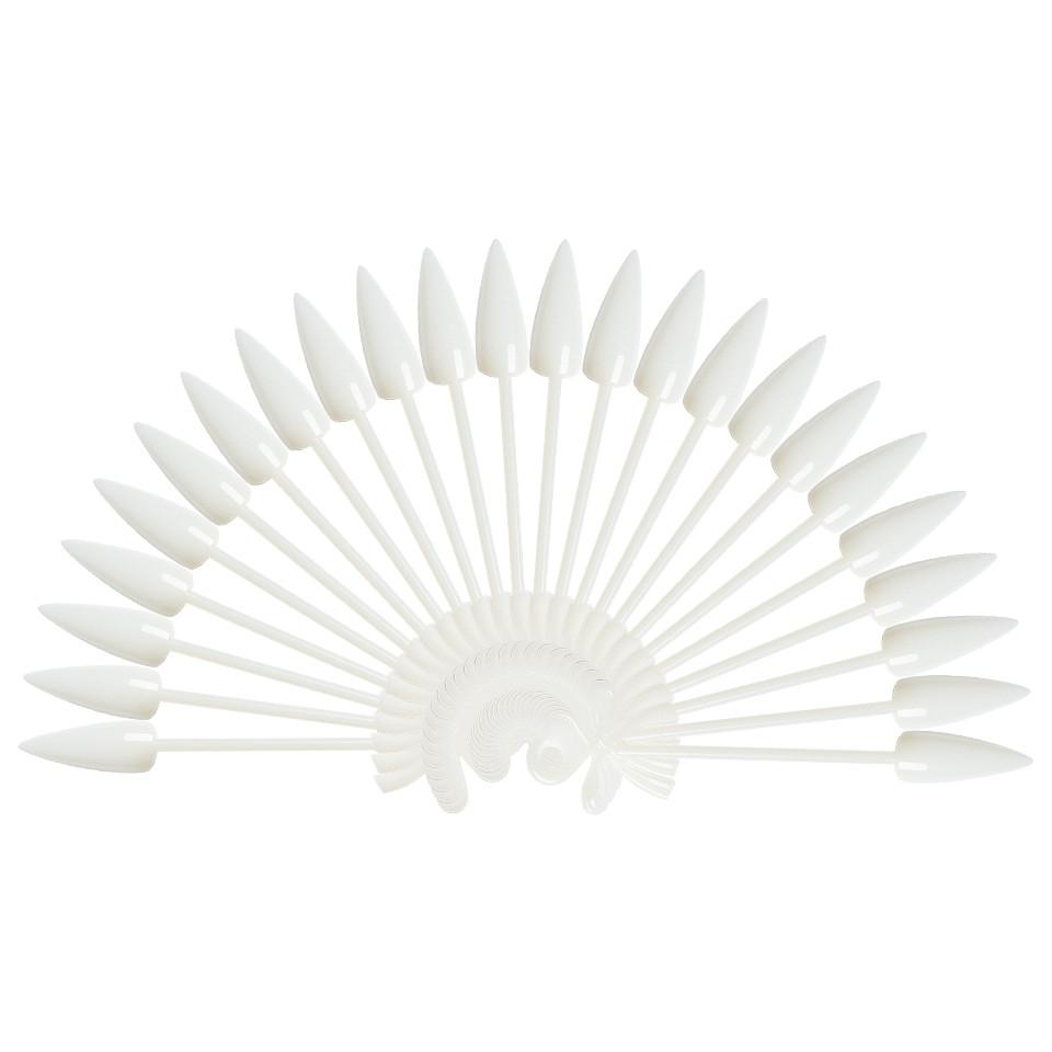 Paletar Unghii Stiletto 24 pozitii pentru exersare si expunere, Natur, inel