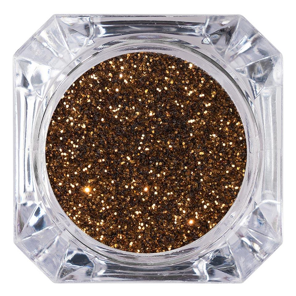 Sclipici Glitter Unghii Pulbere LUXORISE, Copper #18 imagine 2021 kitunghii