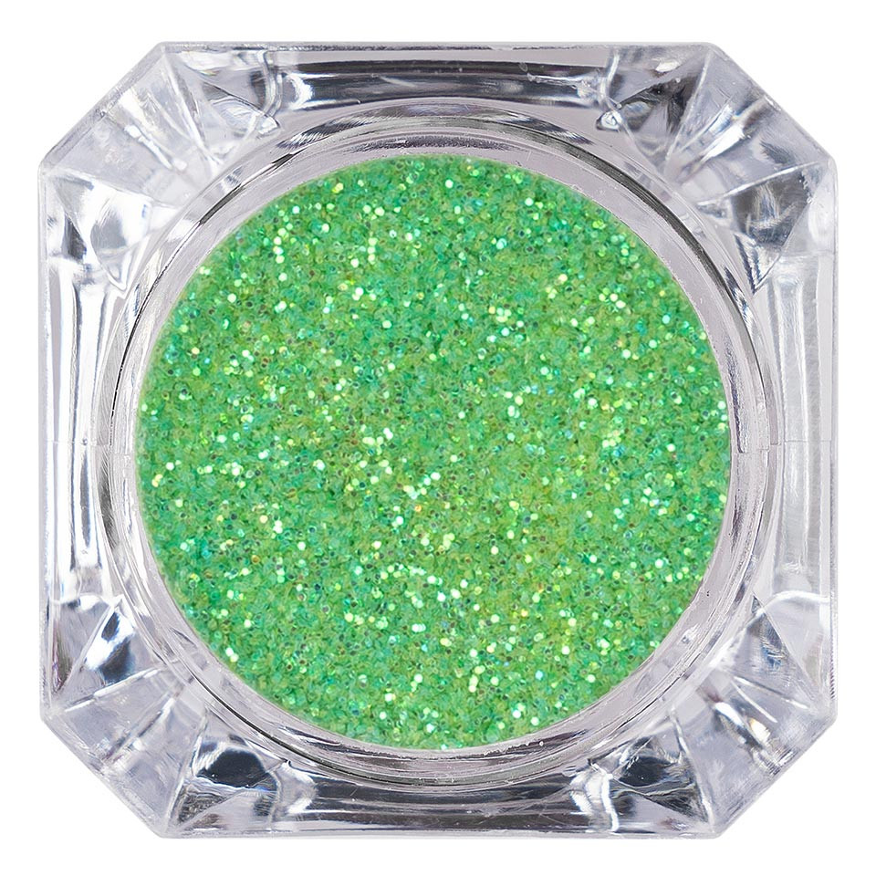 Sclipici Glitter Unghii Pulbere LUXORISE, Velvet Green #63 kitunghii.ro