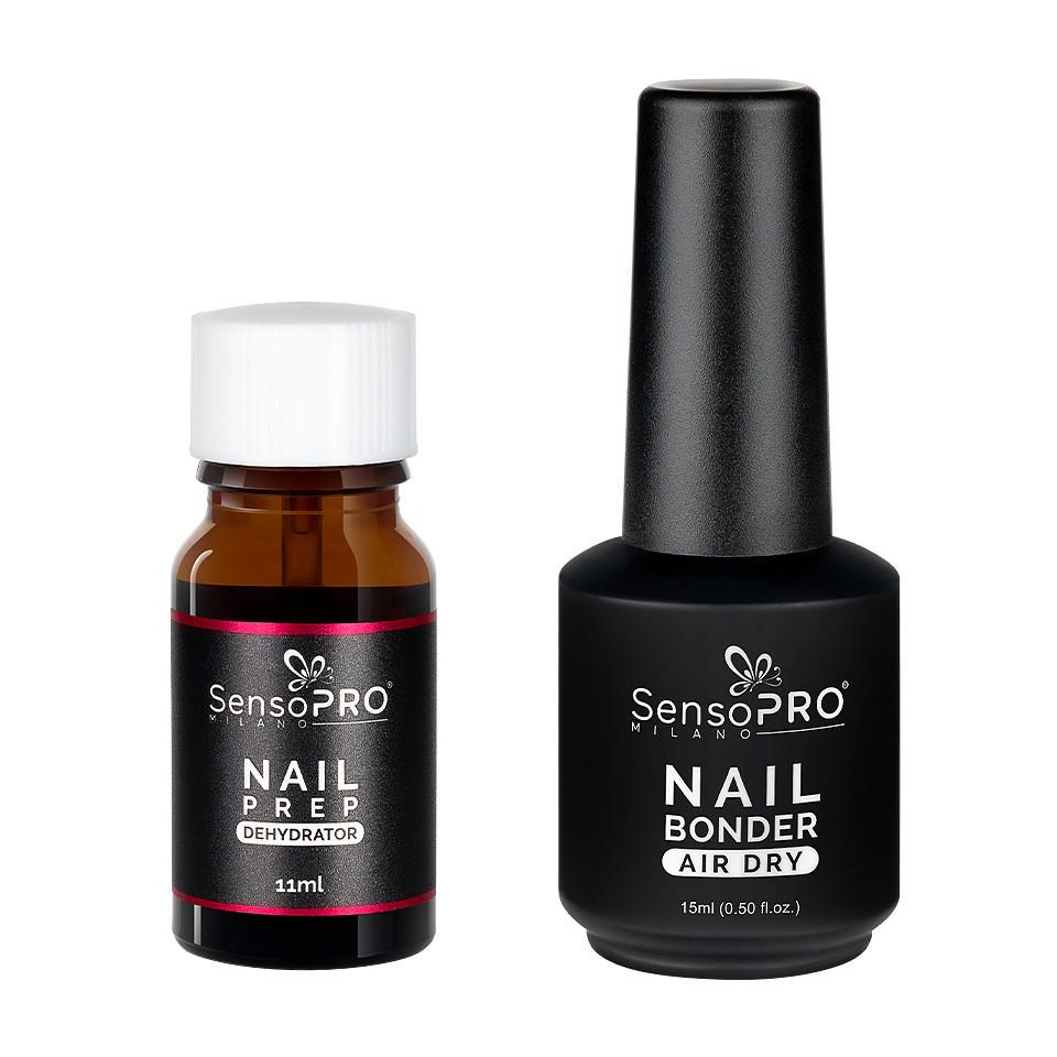 Set Nail Prep Dehydrator + Nail Bonder Primer SensoPRO Milano kitunghii.ro