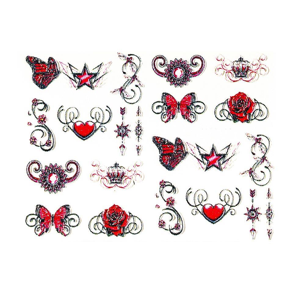 Tatuaj 3D Unghii LUXORISE 0711-32 kitunghii.ro