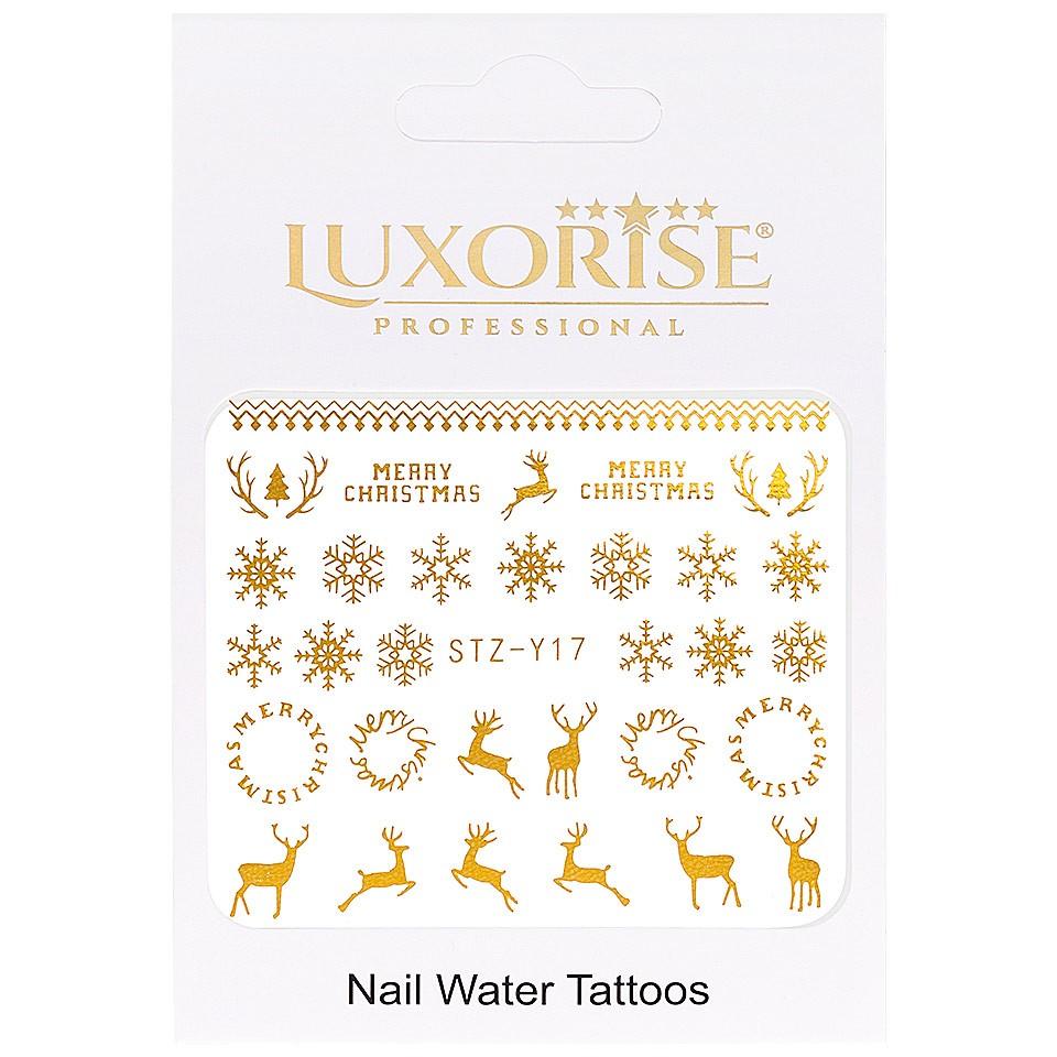 Tatuaj unghii LUXORISE, Winter STZ-Y17 imagine produs