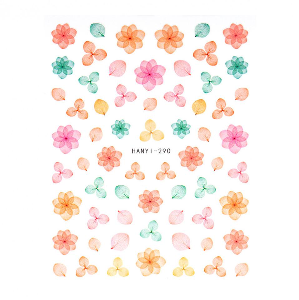 Abtibilduri unghii SensoPRO Art in Bloom, model HANYI 290 imagine produs