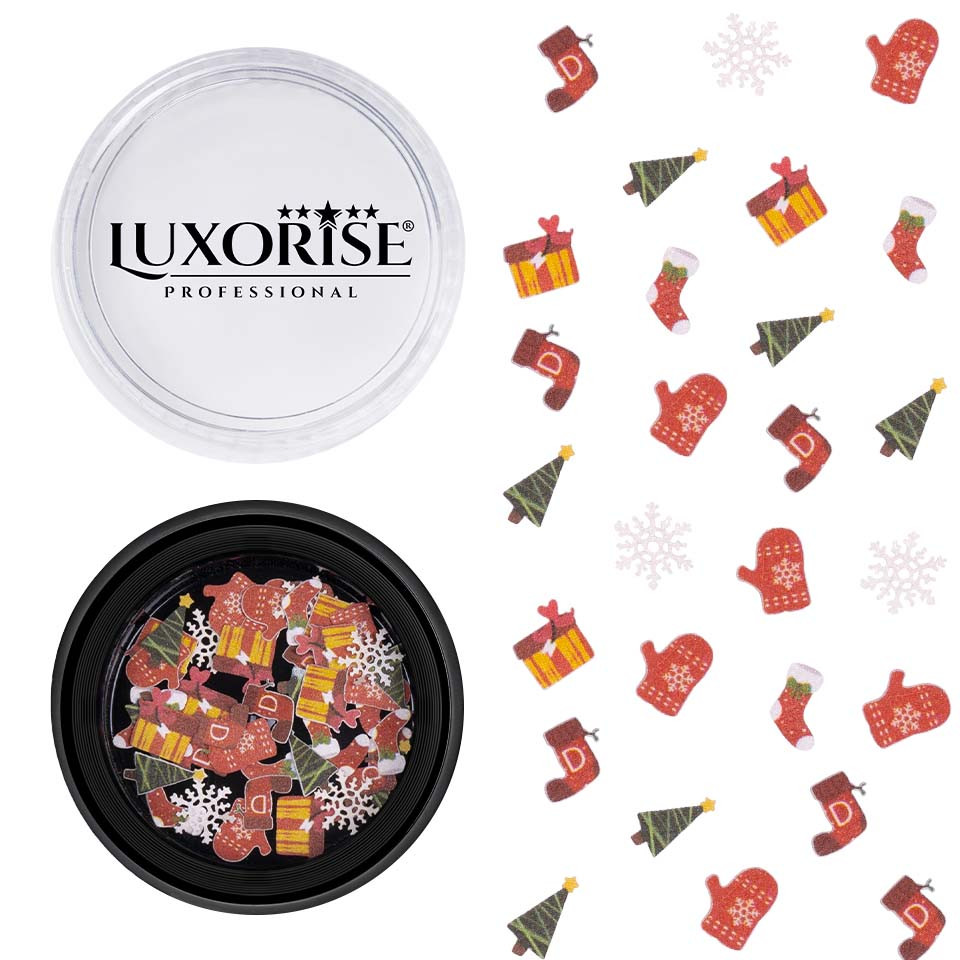 Decoratiune Unghii Christmas Delights #12, LUXORISE imagine 2021 kitunghii