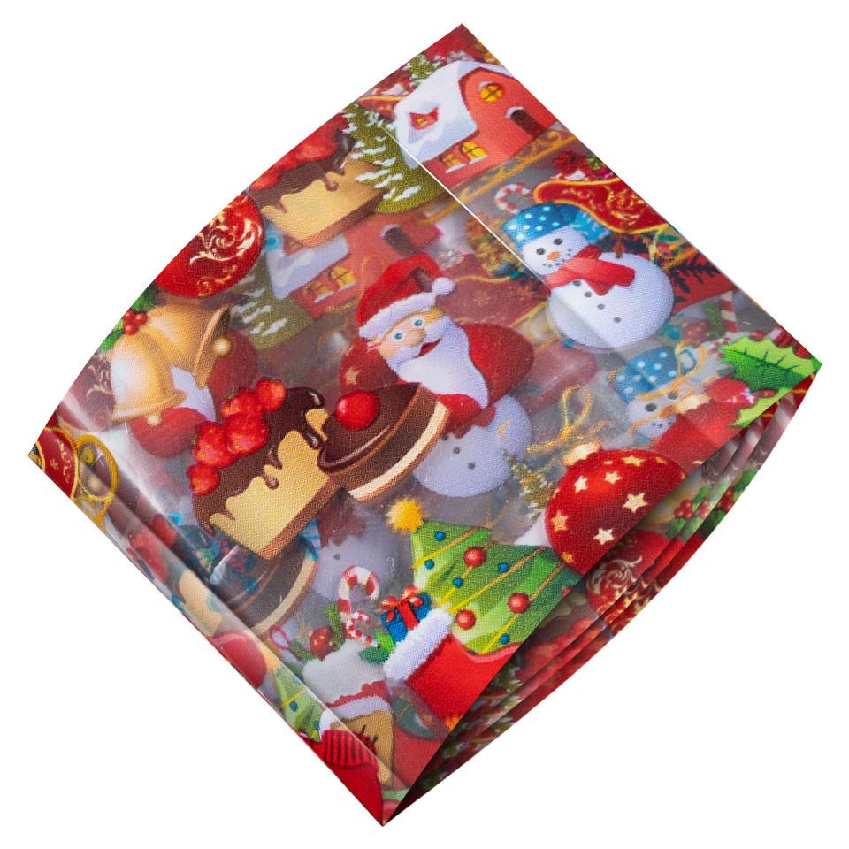 Folie de Transfer Unghii LUXORISE #452 Christmassy kitunghii.ro