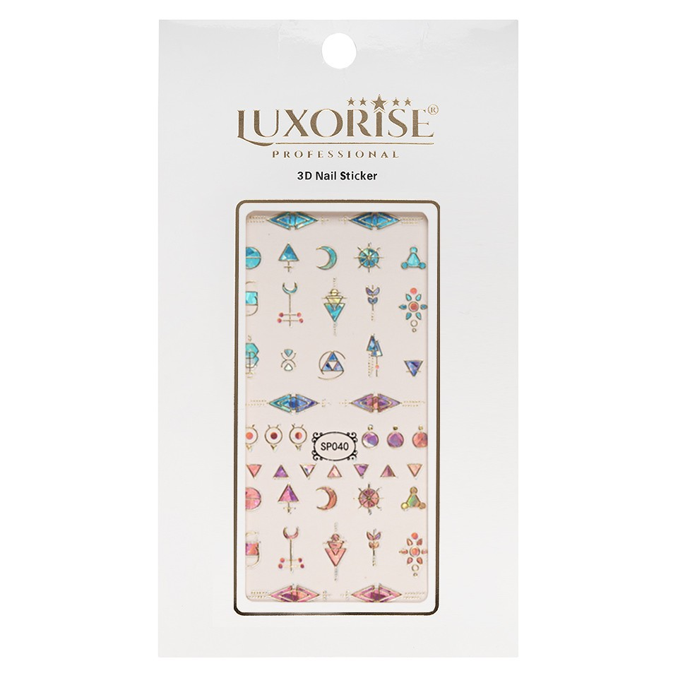 Folie Sticker 3D unghii LUXORISE- SP040 imagine 2021 kitunghii
