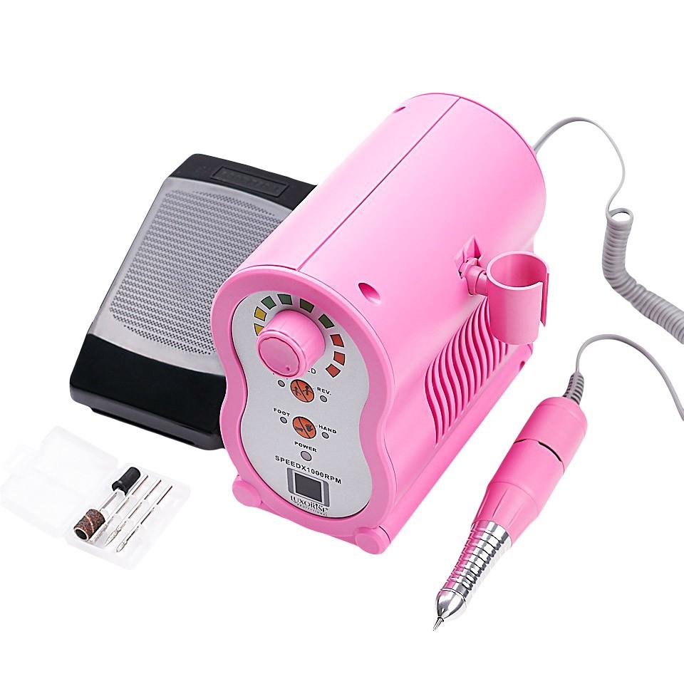 Freza electrica unghii X-PERT Ultra - LUXORISE Germania, 35.000 RPM, Pink