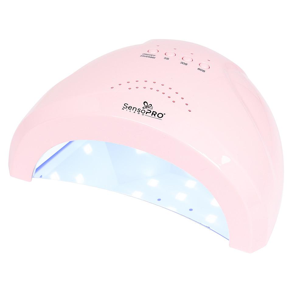 Lampa UV LED 48W SUNONE SensoPRO Milano, Pink imagine 2021 kitunghii