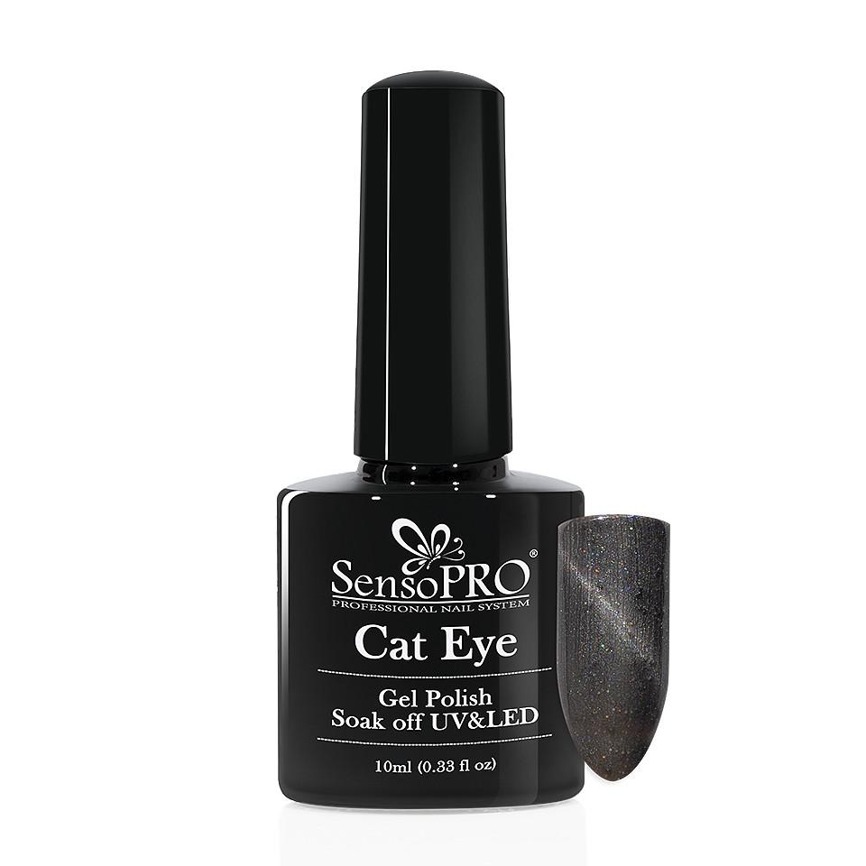Oja Semipermanenta Cat Eye SensoPRO 10ml - #041 Intense Grey kitunghii.ro