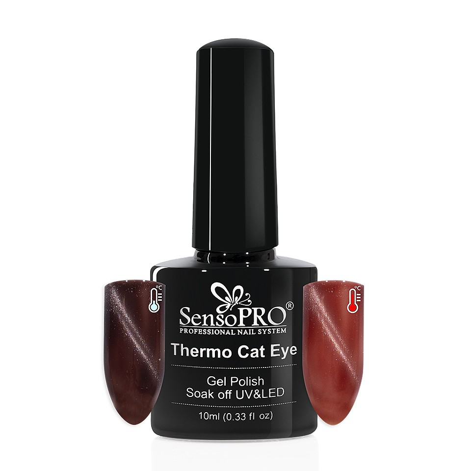 Oja Semipermanenta Thermo Cat Eye SensoPRO 10 ml, #20 imagine 2021 kitunghii
