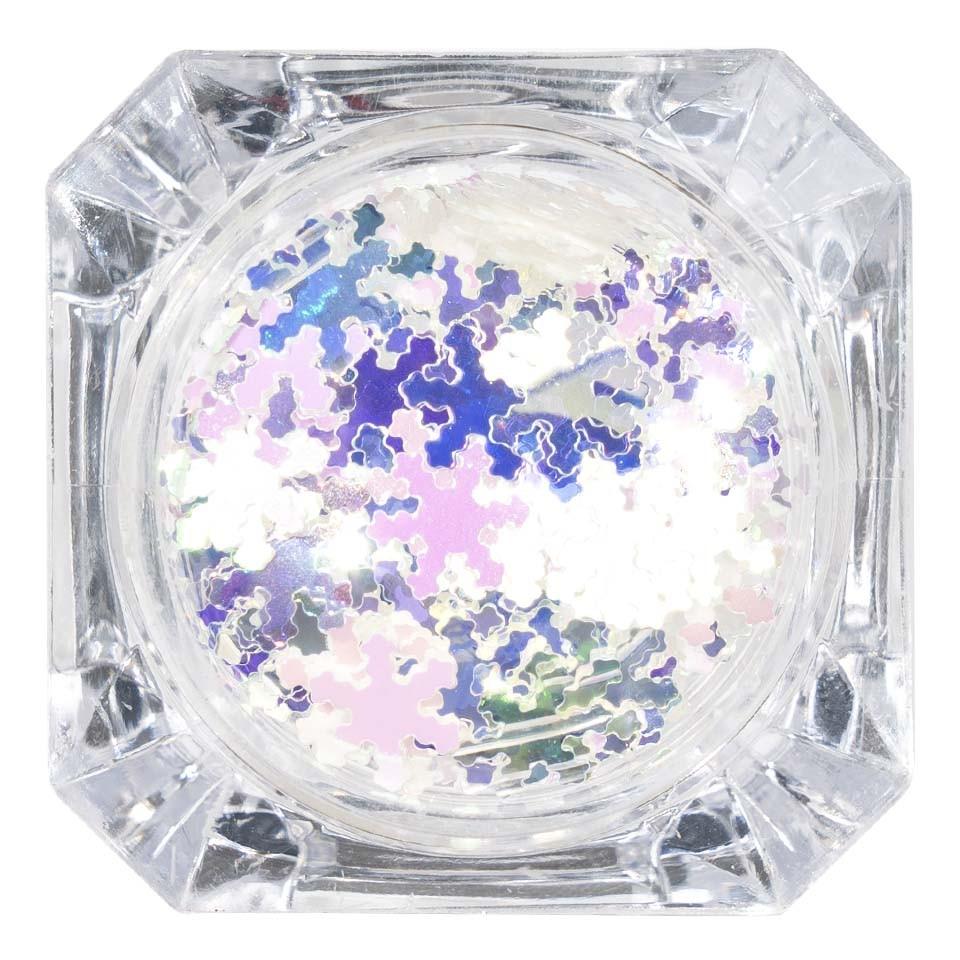 Paiete Unghii LUXORISE Snowflakes #01 poza