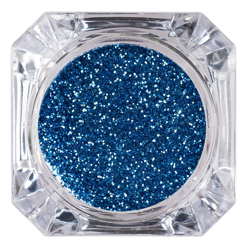 Sclipici Glitter Unghii Pulbere LUXORISE, Blue Day #42 imagine 2021 kitunghii
