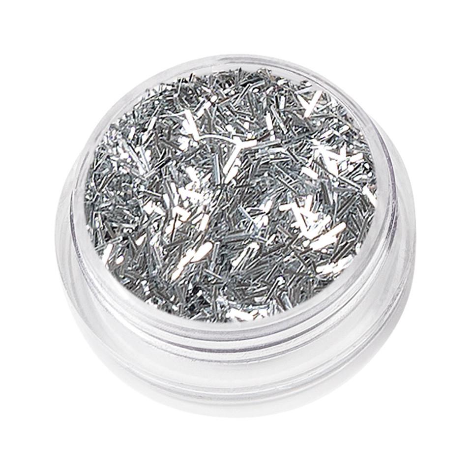 Sclipici Unghii Glitter Dance, Silver