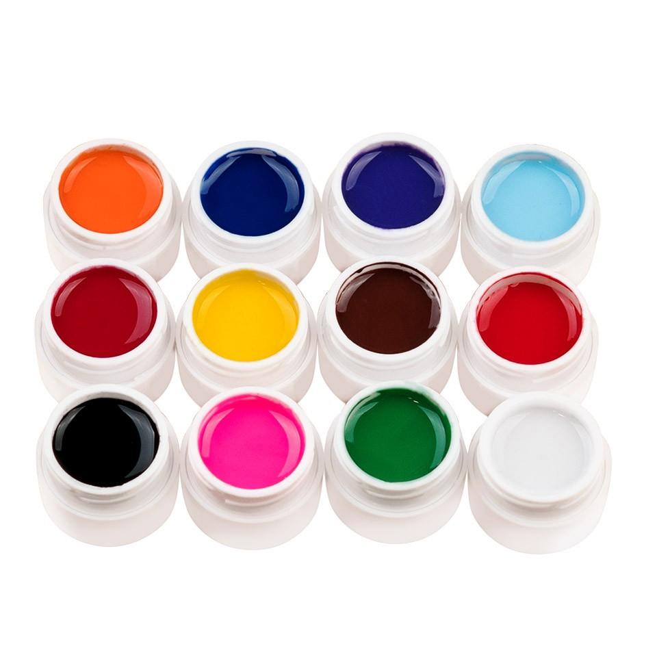 Set 12 geluri UV Color ENS PRO Magic Nails + CADOU imagine 2021 kitunghii