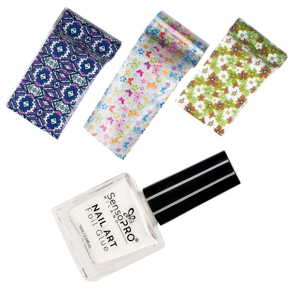 Set Folie Transfer Dream Nails - 3 buc. + Adeziv Special 10 ml kitunghii.ro
