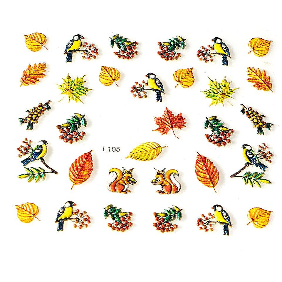 Sticker 3D Unghii LUXORISEArtistry L105 kitunghii.ro