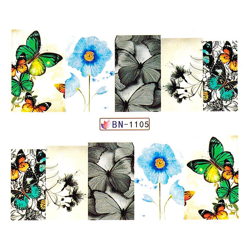 Tatuaj unghii LUXORISE, Nature BN-1105 kitunghii.ro
