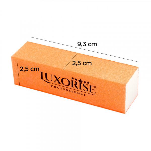 Poze Buffer Unghii cu 4 fete Neon LUXORISE Germania, portocaliu