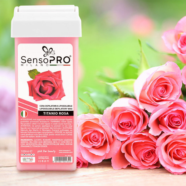 Poze Ceara Epilat Unica Folosinta SensoPRO Milano, Rezerva Rose 100 ml