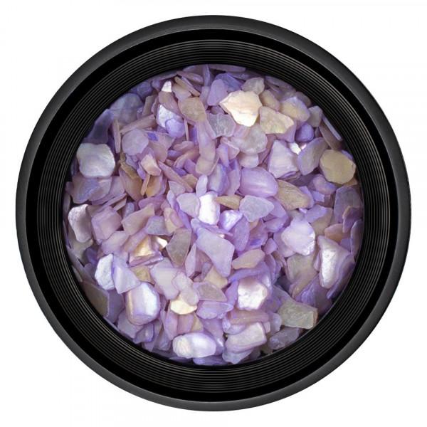 Poze Decor Unghii tip Scoica Pisata LUXORISE - Purple