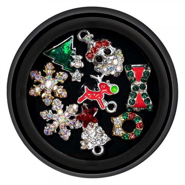 Poze Decoratiuni Unghii Christmas Spirit LUXORISE 02