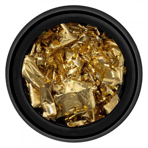 Poze Foita Unghii LUXORISE - Unique Gold #21