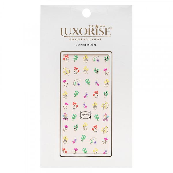 Poze Folie Sticker 3D unghii LUXORISE- SP095