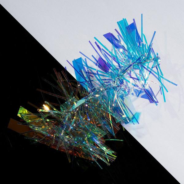 Poze Folie Unghii Holografica, Efect Aurora #01