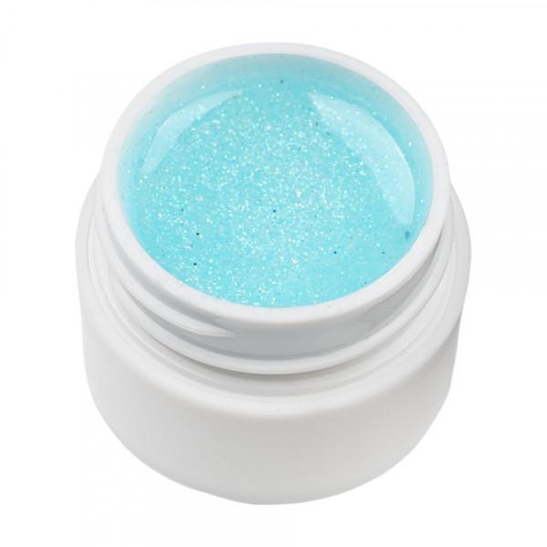 Poze Gel UV Color cu Sclipici ENS PRO #032 - Natural Blue